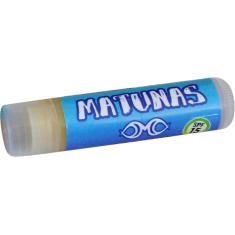 MATUNAS ORGANIC LIP BALM SPF 15 COCONUT single