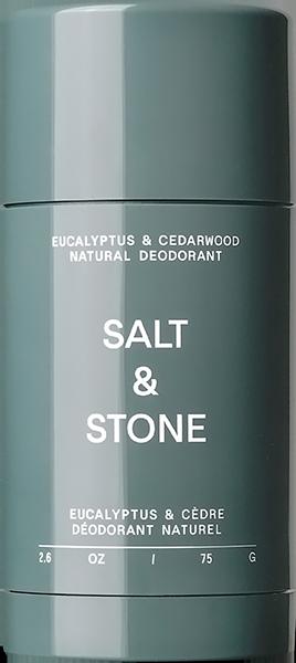 SALT &STONE NATURAL EUCALYPTUS+CEDARWOOD DEODORANT